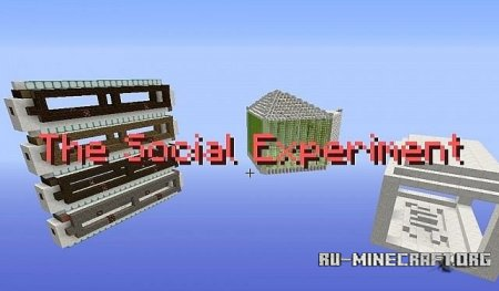 ������� The Social Experiment  ��� Minecraft