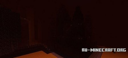 ������� Nether castle  ��� Minecraft