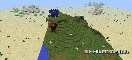 ������� paintball map 7  ��� Minecraft