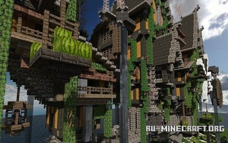 Скачать Steamshire Bridge Line  для Minecraft