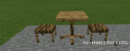 Скачать Dan's Furniture для Minecraft PE 0.12.1