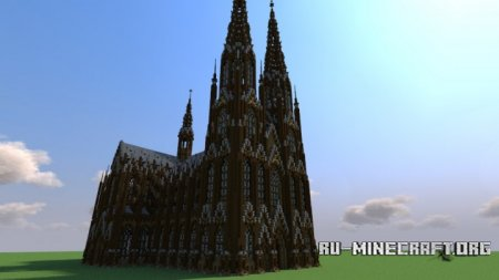 Скачать Cologne Cathedral для Minecraft