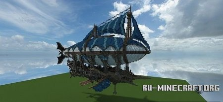 Скачать The Flying Marlin  для Minecraft