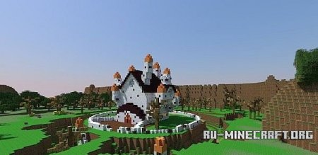������� Adventure time land of ooo   ��� Minecraft