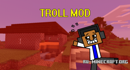 Скачать Troll для Minecraft PE 0.12.1