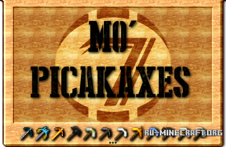 ������� Mo�Pickaxe�s ��� Minecraft PE 0.12.1