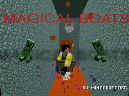 ������� Magical Boats ��� Minecraft