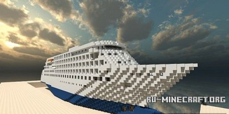 ������� Cruise Ship - Silver Cloud  ��� Minecraft