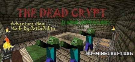 ������� The Dead Crypt - Adventure Map   ��� Minecraft