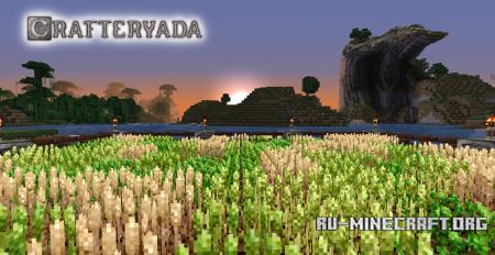 Скачать Crafteryada [32x] для Minecraft 1.8