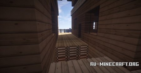 Скачать Beautiful Wooden Hut для Minecraft