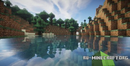 Скачать Ziipzaap's Shader Pack  для Minecraft 1.8