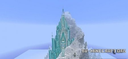 Скачать Frozen - Elsa's Ice Castle  для Minecraft