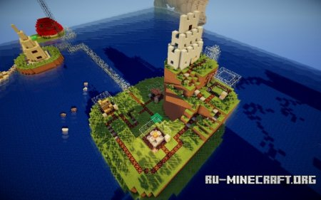 Скачать Super 3D Adventure World для Minecraft