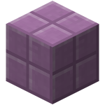 Пурпурный блок в Minecraft 1.9