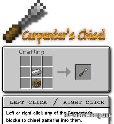 Скачать Carpenter's Blocks  для Minecraft 1.5.2