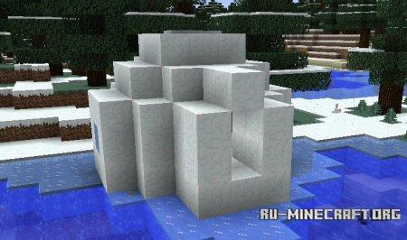 Иглу в Minecraft 1.9