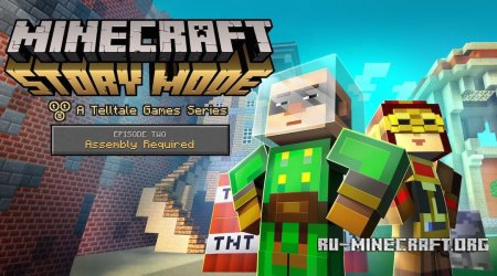 Скачать Minecraft: Story Mode - Episode 2 Торрент [Windows/Mac OS X/Android]