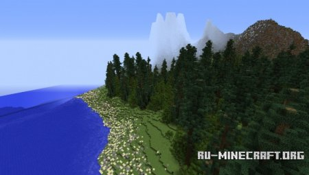Скачать Terrain Request One для Minecraft