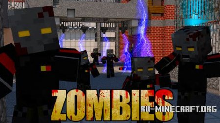������� Zombie Warfare Reborn ��� Minecraft 1.8