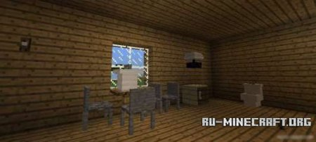 Скачать MrCrayfish's Furniture для Minecraft PE 0.12.1