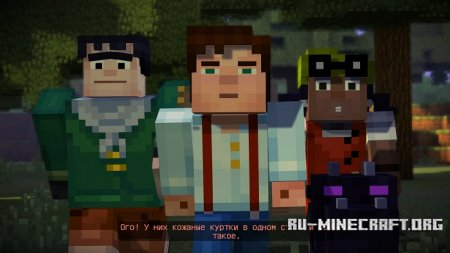 Скриншот #2 из Minecraft: Story Mode Episode 1
