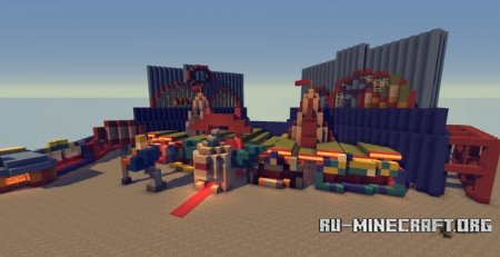 Скачать The Simpsons Ride для Minecraft