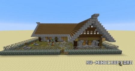 Скачать Old Styled Viking Residence для Minecraft