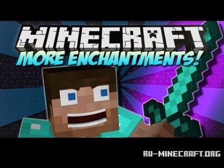 Скачать More Enchantments  для Minecraft 1.5.2