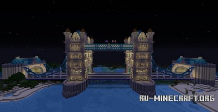 Скачать Tower Bridge для Minecraft