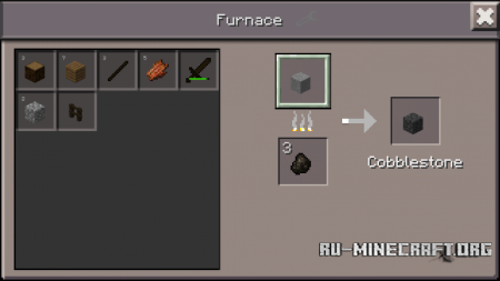 Скачать Simple Furnace Recipes для Minecraft PE 0.12.1
