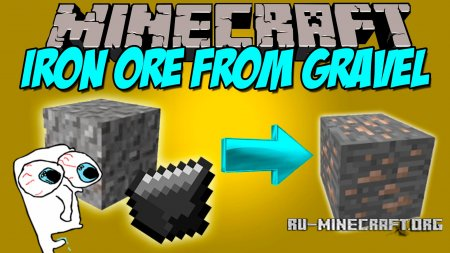 ������� Iron Ore from Gravel ��� Minecraft 1.8