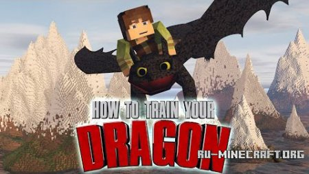 ������� How To Train Your Minecraft Dragon ��� Minecraft 1.7.10