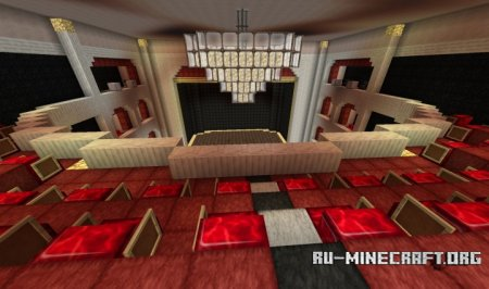 Скачать Antique 426 Seater Theatre для Minecraft