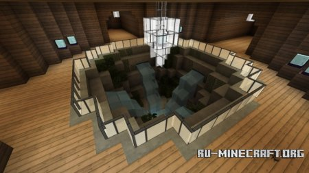 Скачать Custom Mansion Build для Minecraft