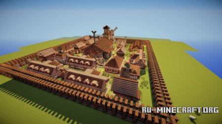 ������� Cool Medieval Village ��� Minecraft