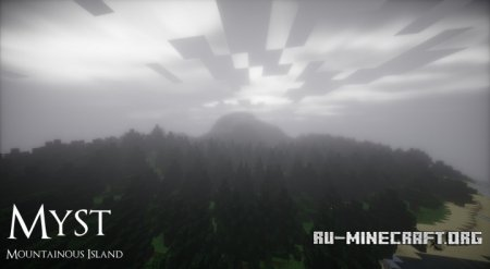 ������� Myst - Mountain Island ��� Minecraft