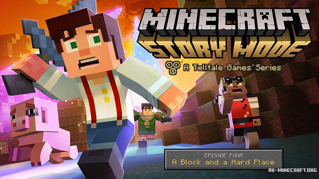 Minecraft Story Mode A Telltale Games Series Эпизод 1 скачать торрент