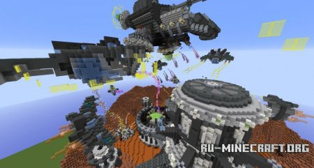 Скачать Battle of Twinkling Crater для Minecraft