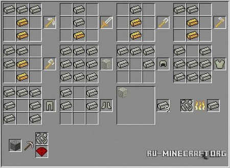 Скачать Metal Gem Craft для Minecraft 1.8.8