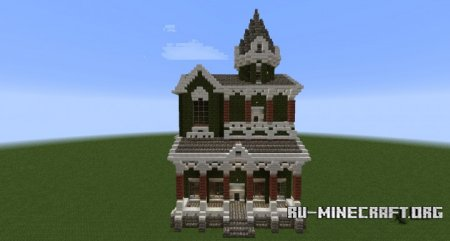 ������� Christmas Victorian House ��� Minecraft