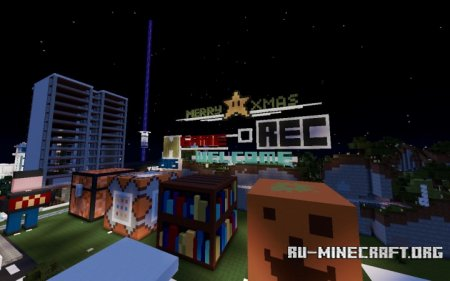 ������� Christmas Special Edition City Playground ��� Minecraft