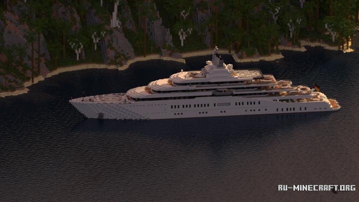 Skachat Eclipse Megayacht Full Interior Dlya Minecraft