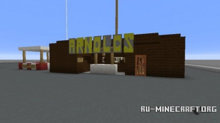 Скачать Arnold's Drive-In from Happy Days для Minecraft