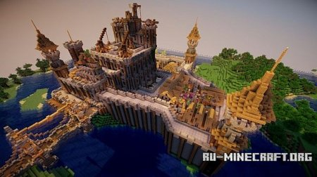 Скачать Steel Point Fortress для Minecraft