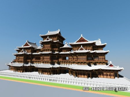 Скачать Chinese Ancient Architecture для Minecraft