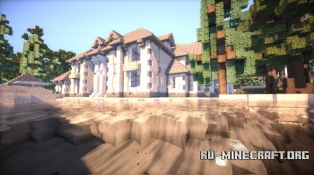 Скачать French Country Mansion 3 для Minecraft