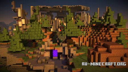 Скачать Minecraft Story Mode Map для Minecraft