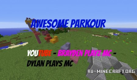������� Awesome Parkour ��� Minecraft