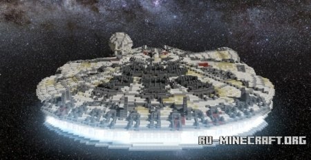 ������� Star Wars Millennium Falcon ��� Minecraft